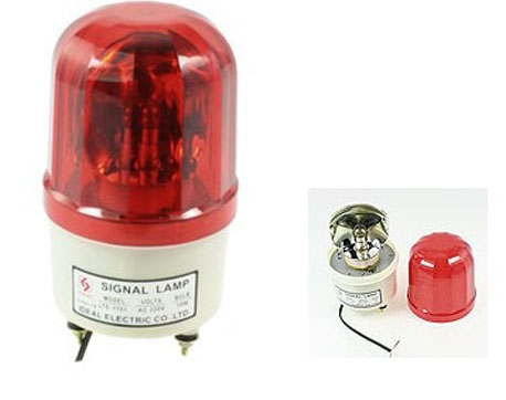 Alarm LED Blitzlicht Blitzleuchte Warnlicht Rot Orange Signal 12V Signalleuchte